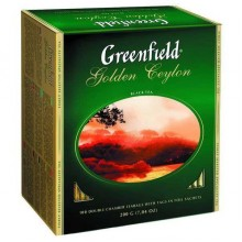 Чай Голден Цейлон черный чай в пакетиках (100х2г)