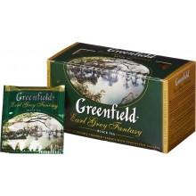 """Черный чай с ароматом бергамота """"Earl Grey Fantasy"""" в пакетиках , 25х2гр"""