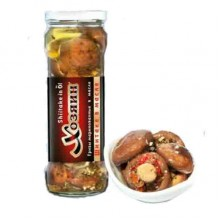 Маринованные грибы шиитаке в масле