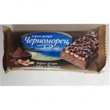 Вафли Черноморец с какао и арахисом