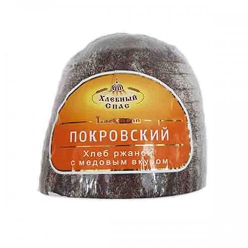 """Ржаной хлеб """"Покровский"""" с медовым вкусом, нарезанный 450 гр"""