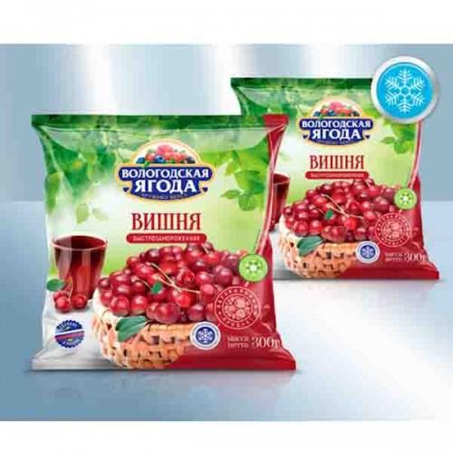 Вишня без косточки Вологодская ягода, замороженная 300гр