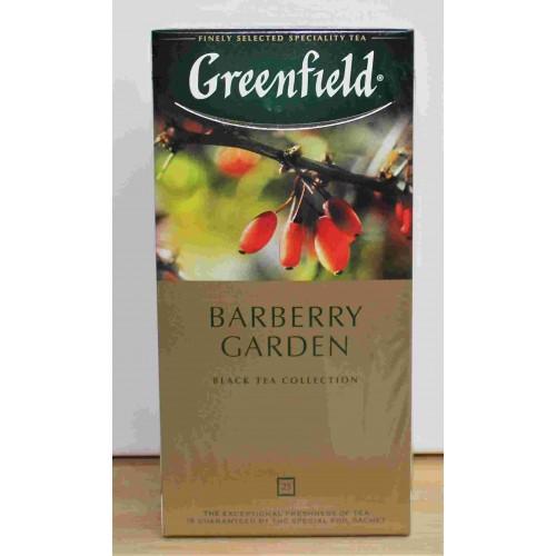 """ЧАЙ """"Greenfield"""" барбарис в пакетиках, 25x1.5гp"""