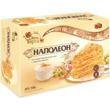 """Торт """"Наполеон"""" с заварным кремом, на основе сгущенного молока"""