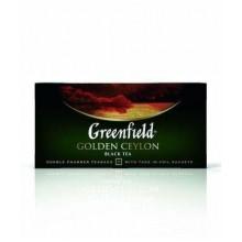 """Черный цейлонский чай """"Golden Ceylon"""" в пакетиках в индивидуальной упаковке, 25х2гр"""