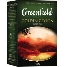 """Черный цейлонский чай """"Golden Ceylon"""" фасованный, 100гp"""