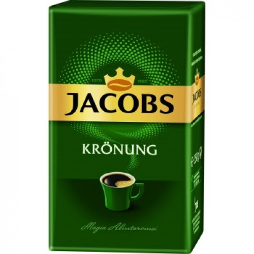 Молотый кофе Jacobs Kronung, 250 гр