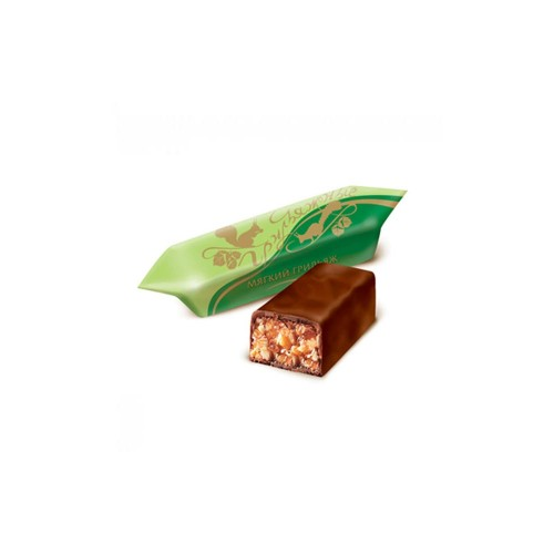 """Конфеты """"Мягкий Грильяж в шоколаде""""300 гр"""