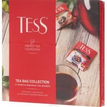 Коллекция 12 вкусом чая 60 пакетиков индивидуальных caшe